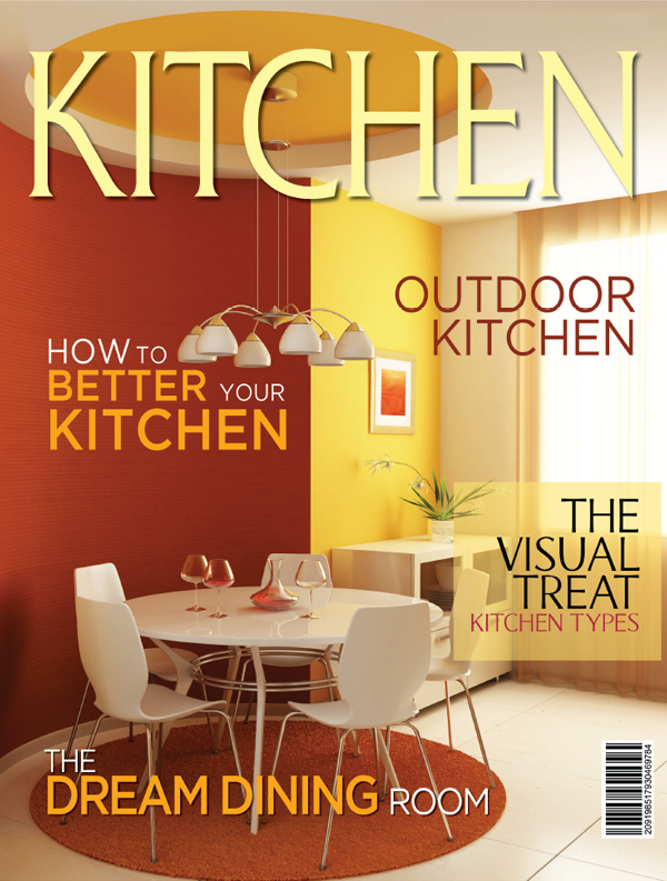 How Expensive is it to Start a Magazine? Kitchen Magazine. Custom Publication by Confetti Media.